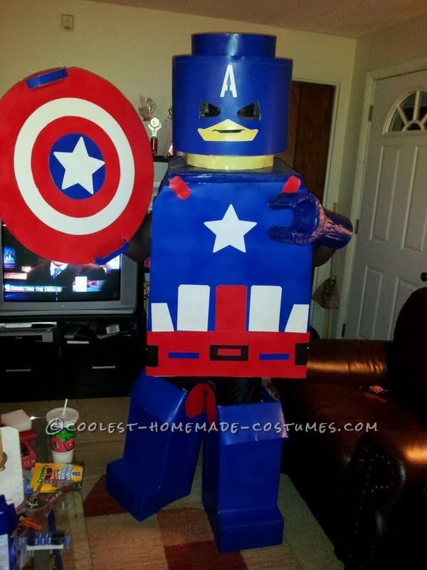 Leggoman Captain America