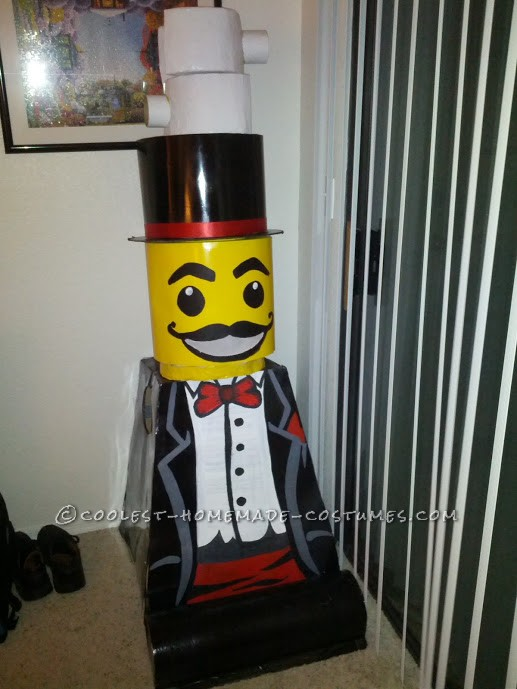 Coolest Lego Minfigure Costumes: LEGO Magician and Lego Sir - 5