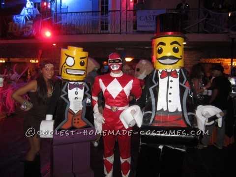 Coolest Lego Minfigure Costumes: LEGO Magician and Lego Sir