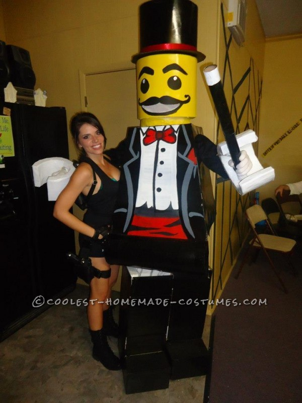 Coolest Lego Minfigure Costumes: LEGO Magician and Lego Sir - 2