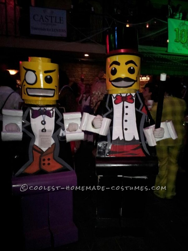 Coolest Lego Minfigure Costumes: LEGO Magician and Lego Sir - 1