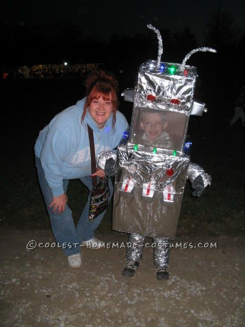 Mr. Roboto and his Mom