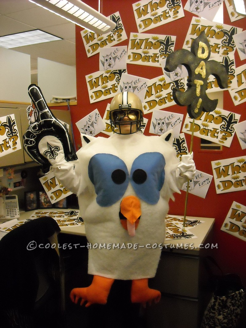 I'm back. I usually like to make my costumes a Play on words. Last year's idea came from me being from New Orleans and