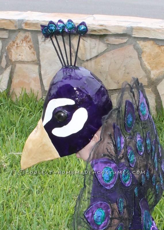 A Very Original Homemade Peacock Costume - 1