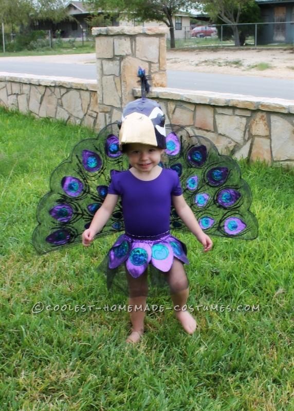 A Very Original Homemade Peacock Costume - 5