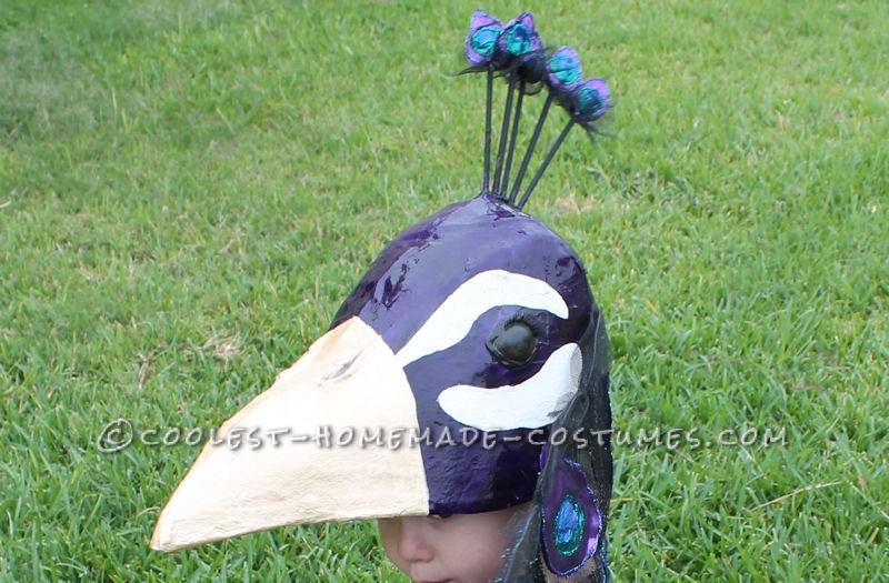 A Very Original Homemade Peacock Costume - 4