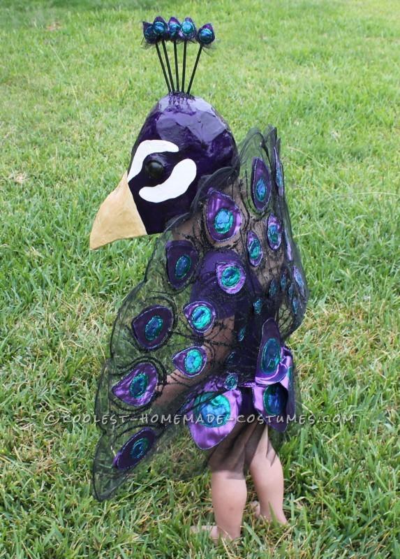 A Very Original Homemade Peacock Costume - 3