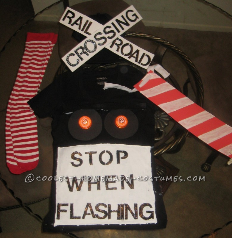 Coolest Railroad Crossing Halloween Costume
