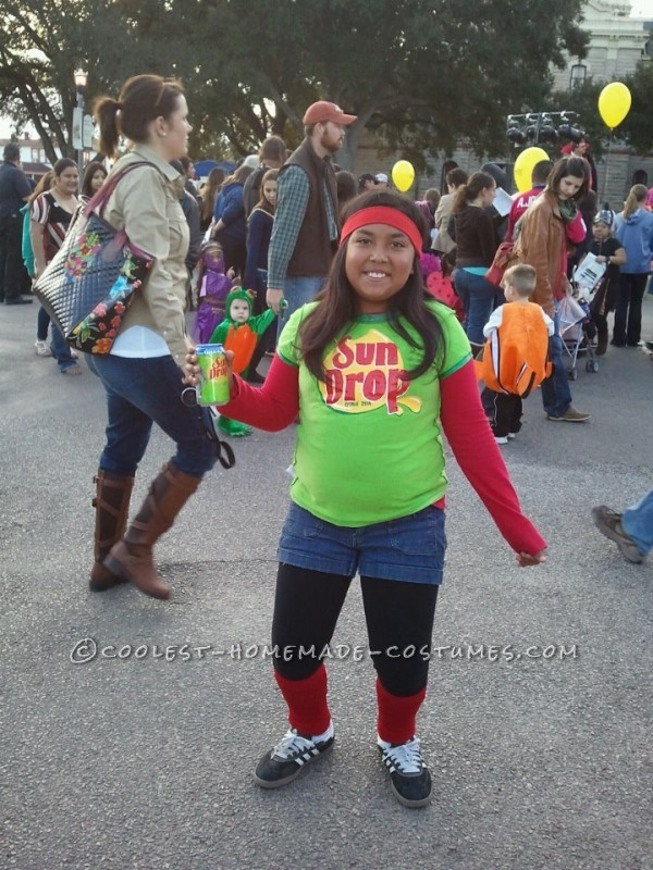 We crack up when ever we see the sundrop citrus drink commercial with the girl dancing to drop it like it\'s hot. so this halloween when thinking a