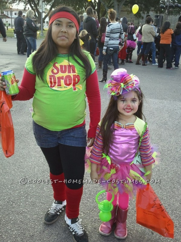 Coolest Last-Minute SunDrop Commercial Girl Costume - 1