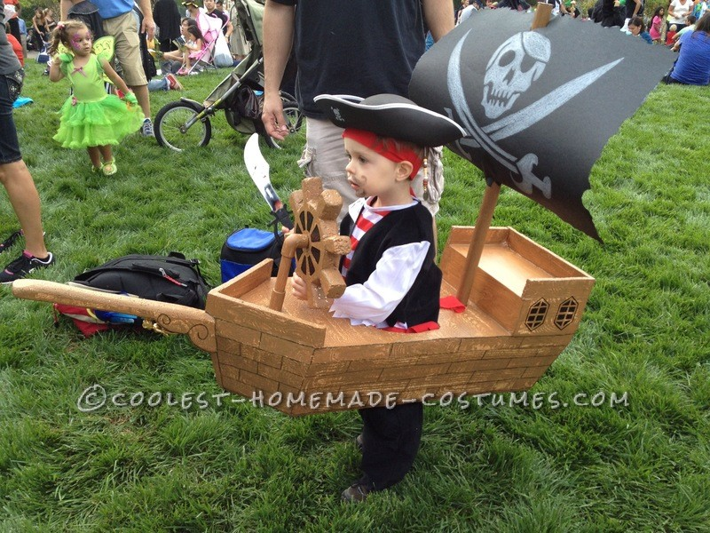 Pirate Ship Side View