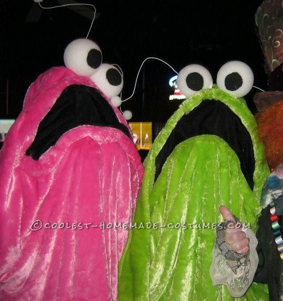 Our Homemade Yip Yips Couple Costume That Won Us $200 at the Local Contest!