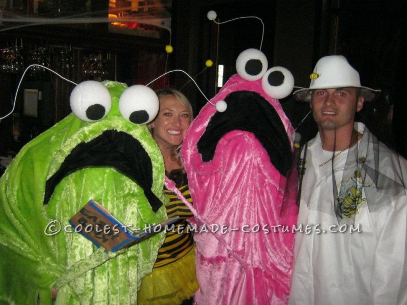 Our Homemade Yip Yips Couple Costume That Won Us $200 at the Local Contest! - 3