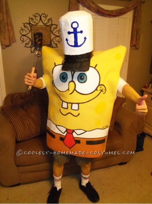 Coolest Homemade Spongebob Costume Idea