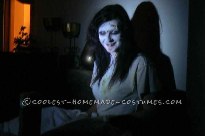 Creepy Homemade Exorcist Costume