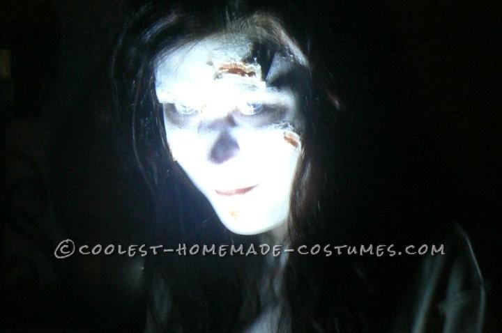 Creepy Homemade Exorcist Costume - 3