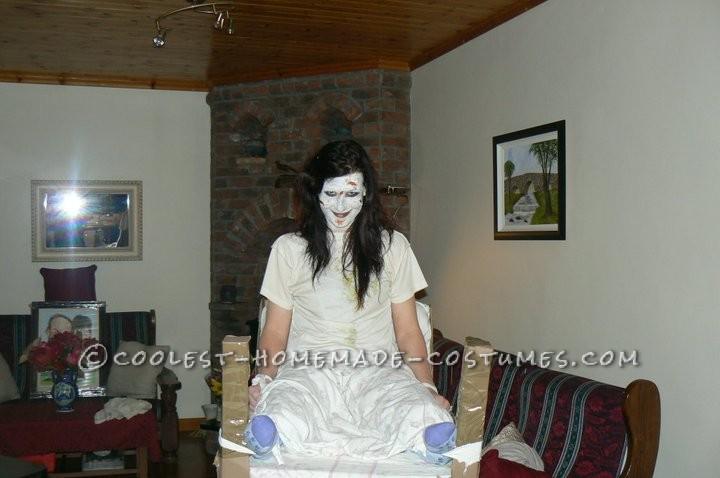 Creepy Homemade Exorcist Costume - 1