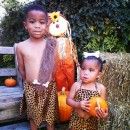 Cutest Pebbles and Bamm Bamm Kids Halloween Couple Costume