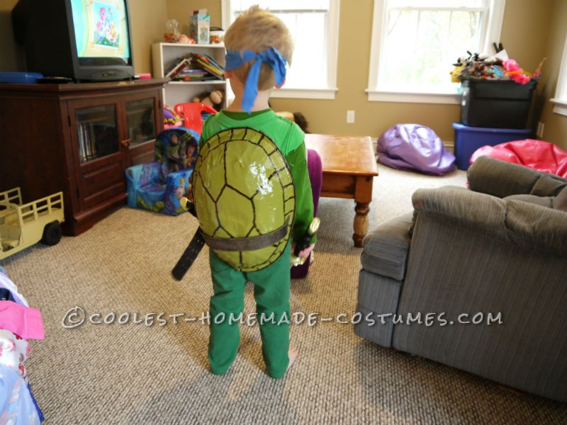 So, as a guy in my late 20s, I grew up on the Ninja Turtles. Now that a new show has started up, my son, who is 2.5 also loves them. When my wife ask