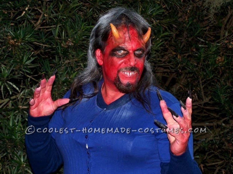 Devil blue dress costume - Best dress image