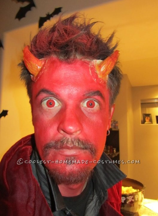 Simple Homemade Devil Costume