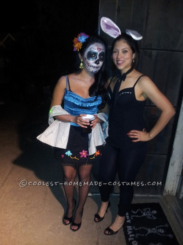 Dia de Los Muertes Couple Halloween costume