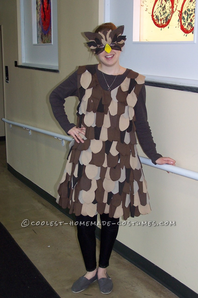 Great DIY Lady Owl Halloween Costume