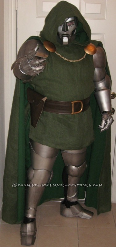 Palmcon 2011 was the first con I ever went to, after going I was inspired to make a costume for 2012.I worked all year on a Dr. Doom costume and ba