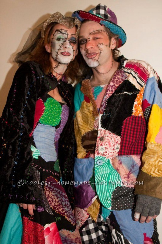 Homemade Costumes Inspired by Dr. Finklestein's Nightmare Before Christmas Creations