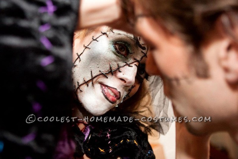 Nightmare Before Christmas Zombie.Homemade Costumes Inspired By Dr Finklestein S Nightmare