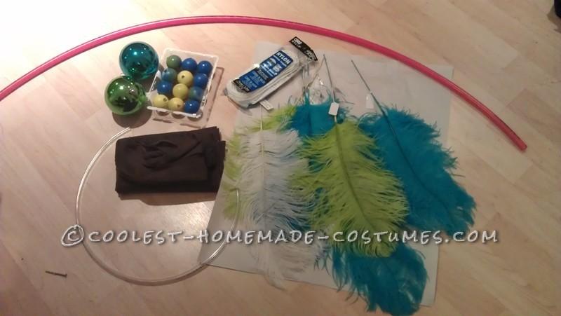 Original and Creative Homemade Halloween Costume: Dreamcatcher - 9