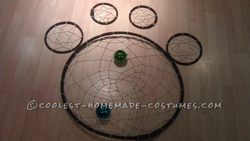 Original and Creative Homemade Halloween Costume: Dreamcatcher - 8