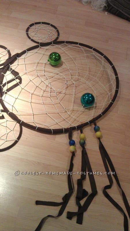 Original and Creative Homemade Halloween Costume: Dreamcatcher - 6