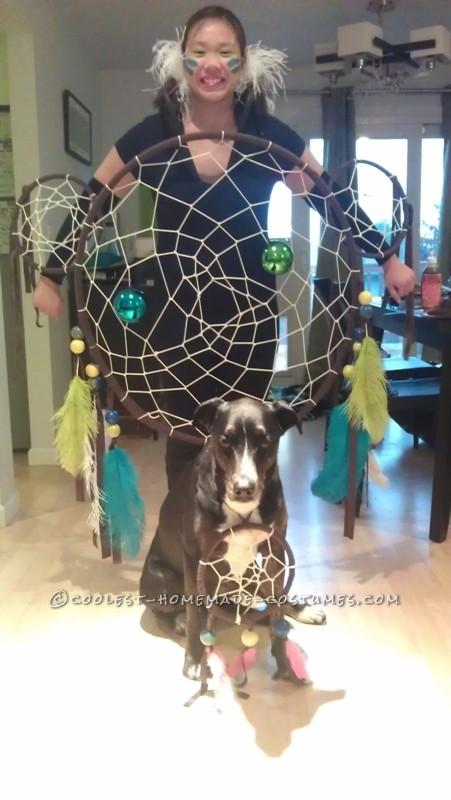 Original and Creative Homemade Halloween Costume: Dreamcatcher - 2