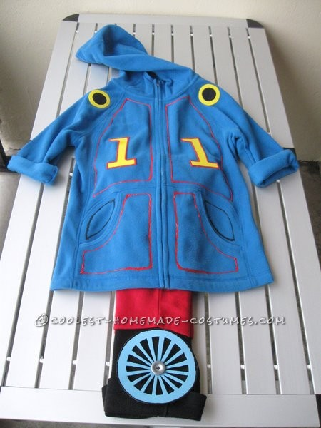 Easy Thomas the Tank Engine Toddler Costume - 1