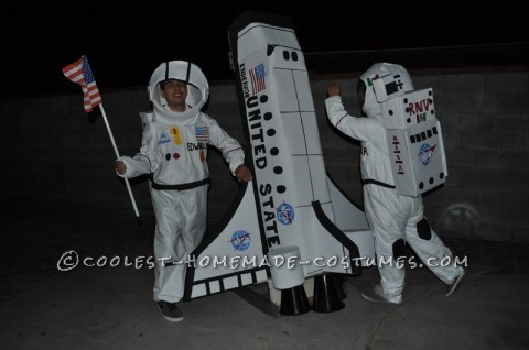 This costume was inspired by the one and only first astronaut that landed the American Flag on the moon by Edwar