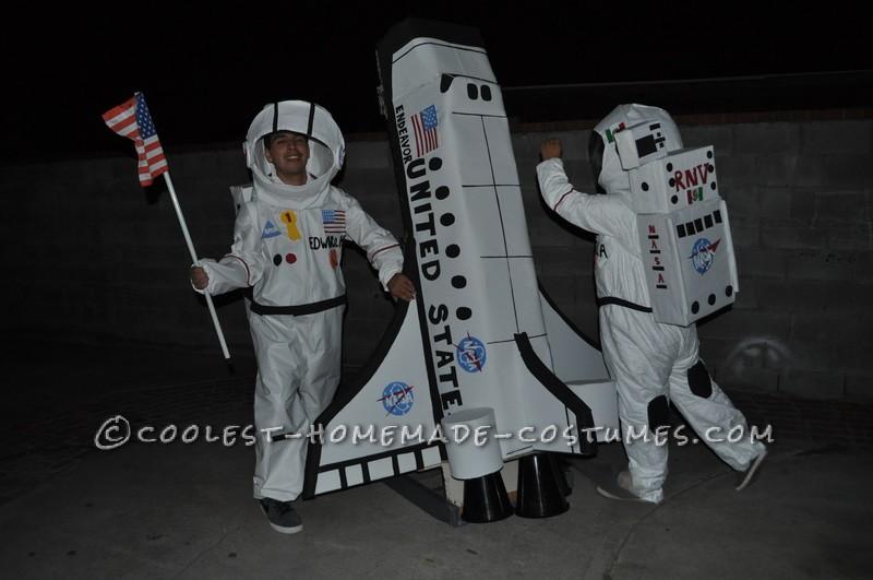 Endeavor Astronauts