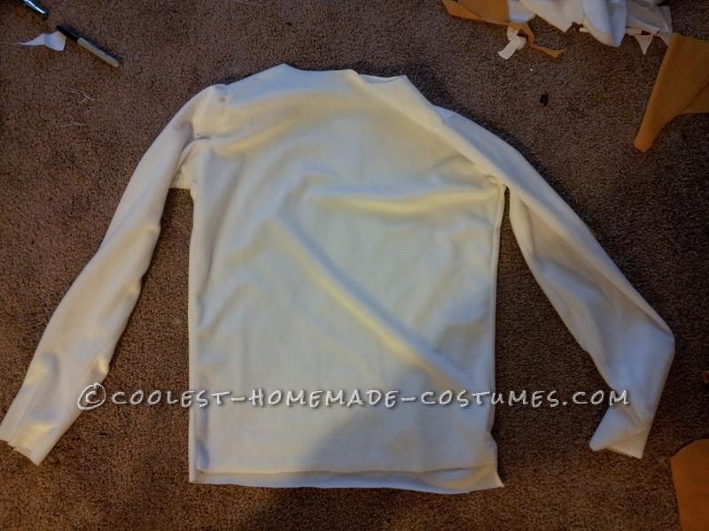 Homemade Roger Rabbit Costume Shirt