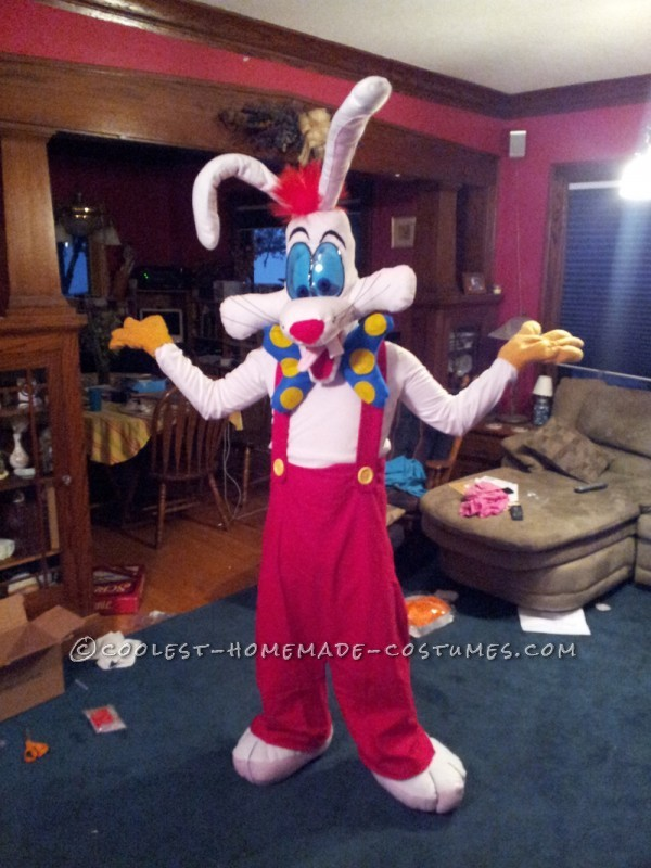 Best Home Made Roger Rabbit Halloween Costume