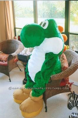 Epic Deluxe Homemade Yoshi Costume - 2
