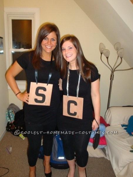 Original Homemade Scrabble Group Costume - 3