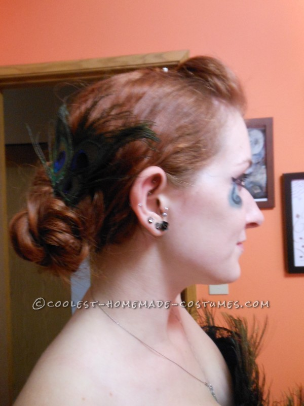 Hair piece and updo