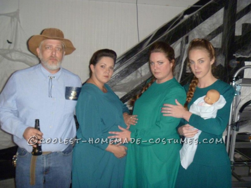 So... being fans of the HBO show, Big Love, we decided that a great group costume would be a polygamist family (Fundamentalist Latter Day Saints). Al
