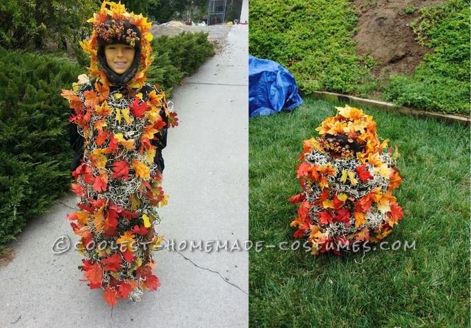 Unusual Leaf Monster Halloween Costume