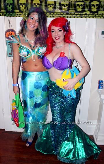 Ariel and friend