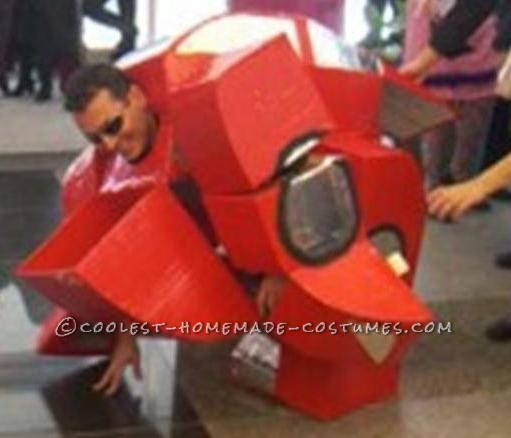 Awesome Transforming Ferrari Costume that Really Transforms - 1