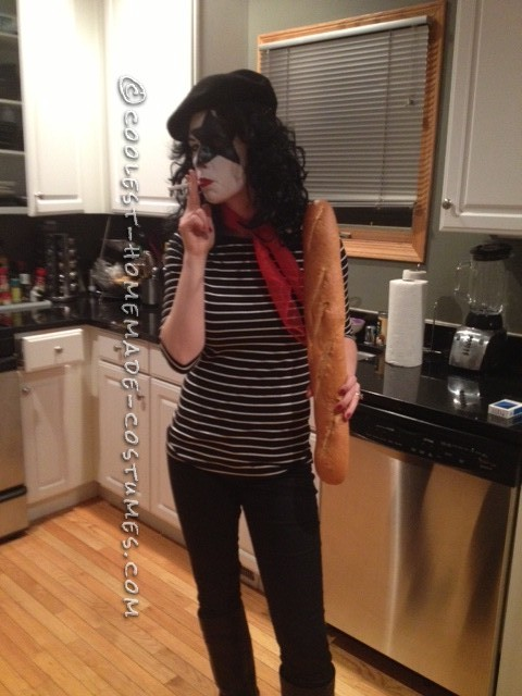 Clever Wordplay Costume: French KISS - 1