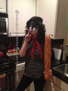 Clever Wordplay Costume: French KISS - 2