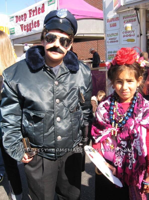 Police Officer & Frida