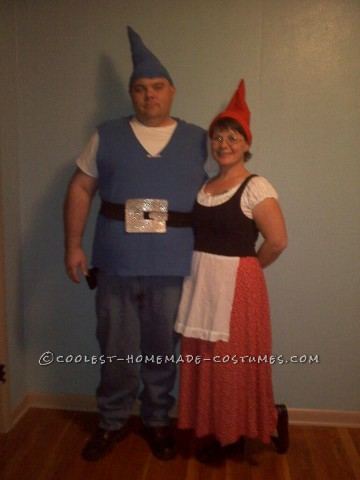 "Last year, my family went to watch ""Gnomeo & Juliet"" and I immediately knew what I wanted to be for Halloween. For weeks, I worked on getting m"
